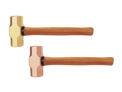 191G Non Sparking Sledge Hammer with Wooden Handle